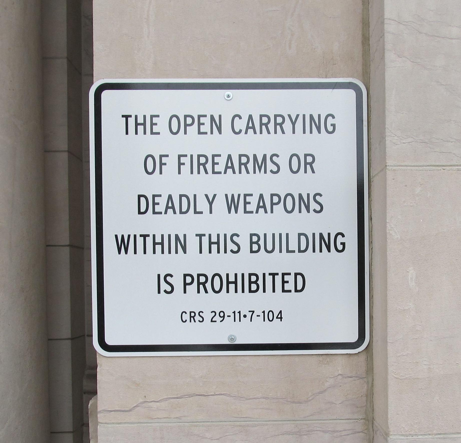 Have Gun Will Train Colorado