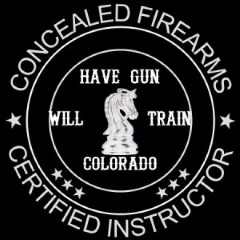 Have Gun Will Train Colorado Logo